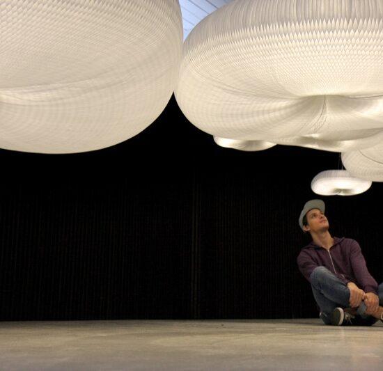 verlichting design cloud_softlight_mobile kroonluchter luster molo art4elements