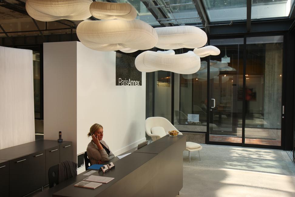 verlichting luster kroonluchter akoestiek verbeteren kantoor ...