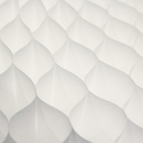 wanden softwall molodesign art4elements honeycomb honingraad tyvek textiel akoestiek verbeteren tyvek
