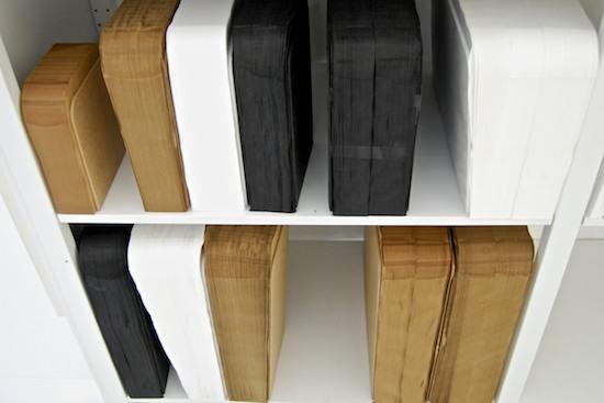 molo design art4elements softblock compact opslag storage boek kraftpapier molo design