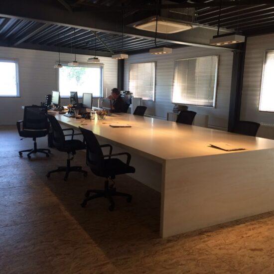 studio-art4elements-molo-workshop grote tafel kantoor interieuradvies jarnemuiden